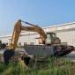 沼泽地挖机出租 水上挖掘机出租服务中心